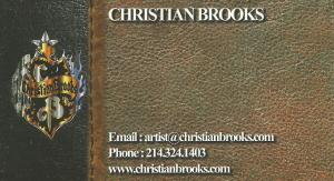 Christian Brooks Business Card