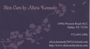 Alicia Kennedy Business Card