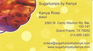 Kenya Ross Business Card